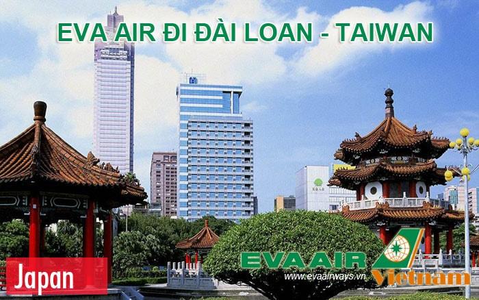 Vé máy bay đi Đài Loan của Eva Air