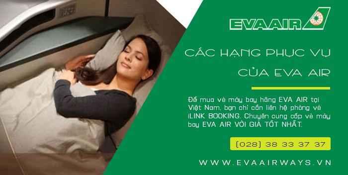 Các hạng phục vụ của Eva Air